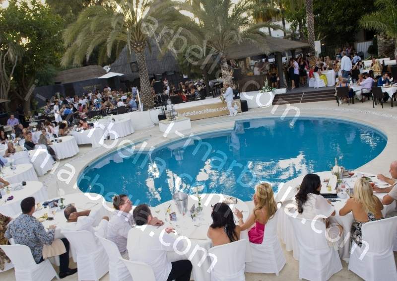 Alexander O'Neal live at Buddha Beach, Puerto Banus, Marbella