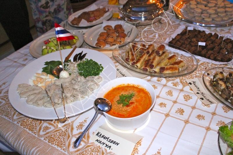 International Pot Luck Dinner by Ladies of Marbella!