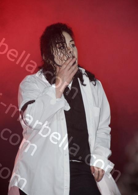 Michael Jackson Tribute at Puente Romano, Marbella