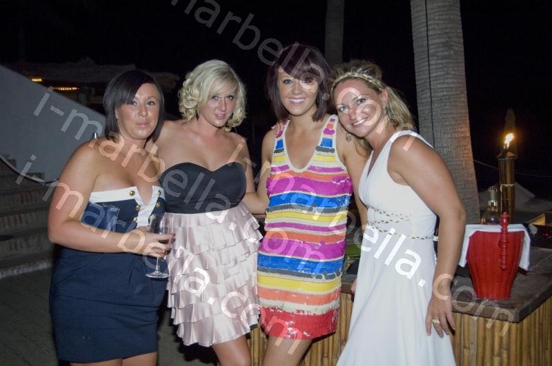 Full Moon Party Nikki Beach and Marie Clare's Birthday