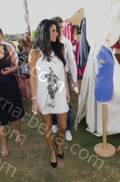 Katie Price Launches Her Polo Range at Santa Maria Polo, Sotogrande, Cadiz.