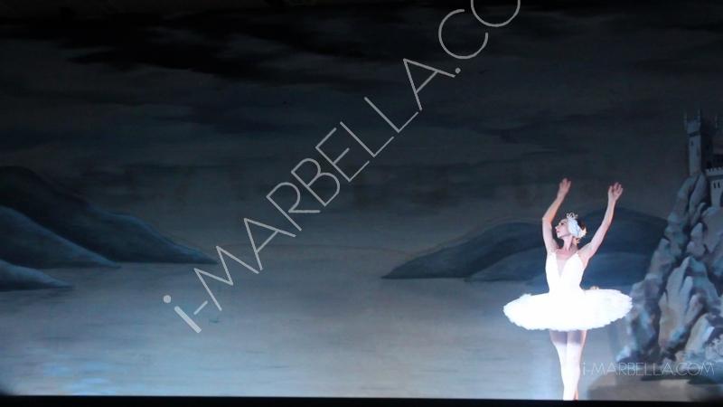 El ballet de El Lago de los Cisnes en  Marbella!