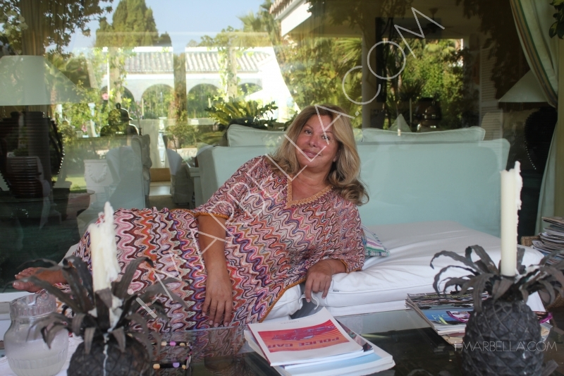 Exclusive interview with the Queen of Marbella - Olivia Valere