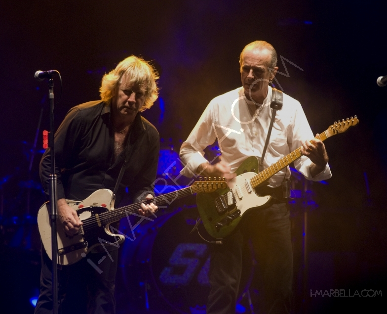 Status Quo Headline at the Gibraltar Day Celebrations