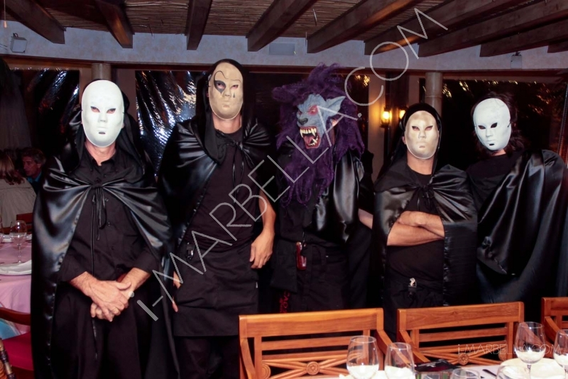 Mysterious Halloween Night at Trocadero Marbella