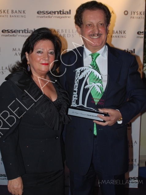 6th Edition of Essential Magazine Awards in Marbella