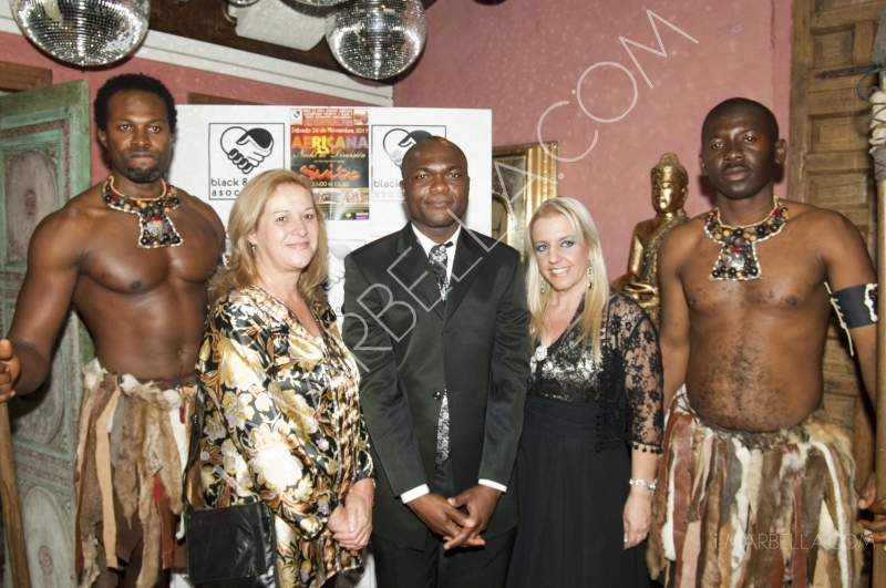 African Gala Dinner in Marbella