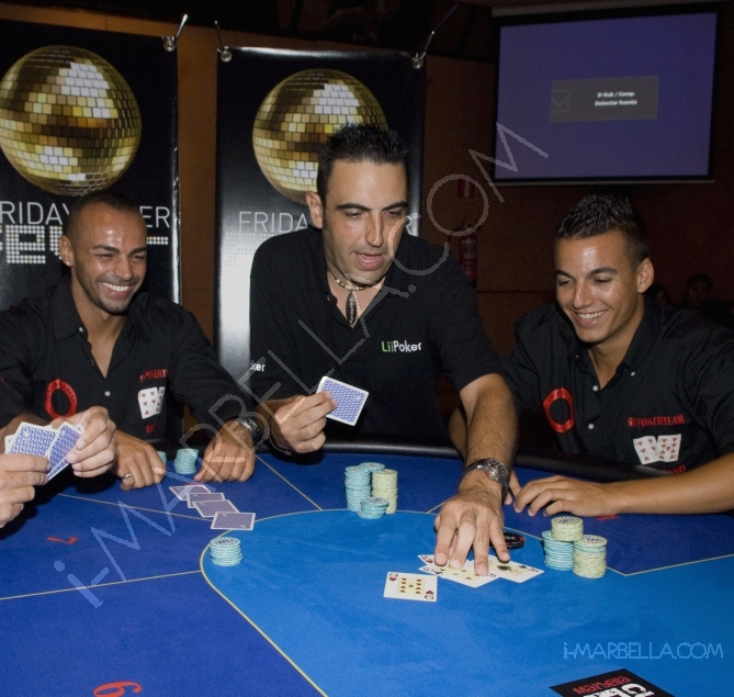 "Poker in Spain, ""Friday Poker Fever""."