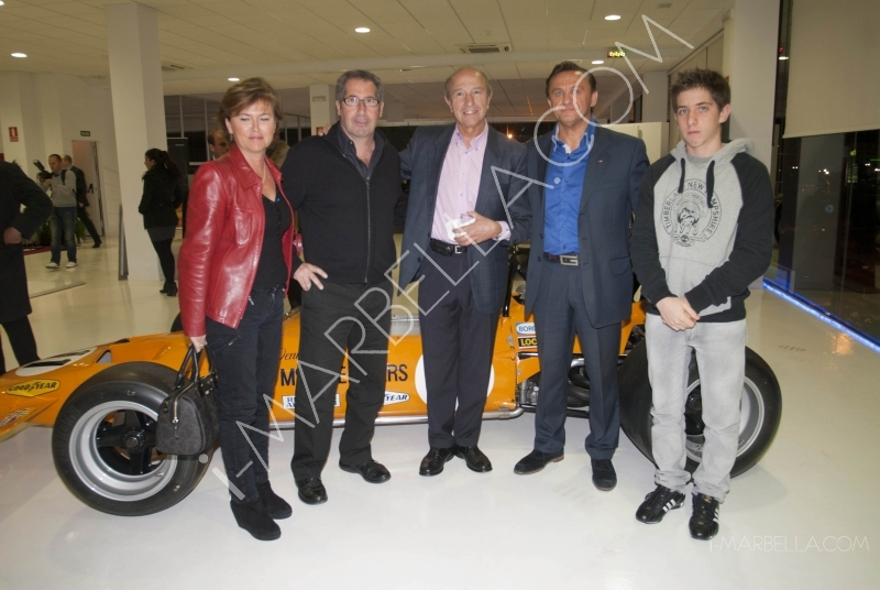 Guarnieri opened in Marbella the first McLaren Showroom in Spain