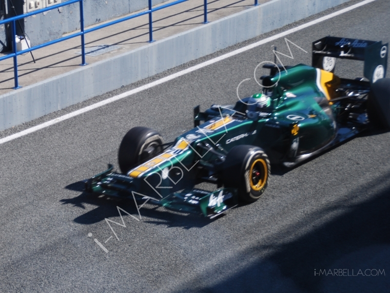 F1 Jerez Test Driving with Michael Schumacher