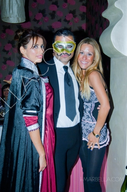 Costume Birthday Party of Arno Valere in Marbella