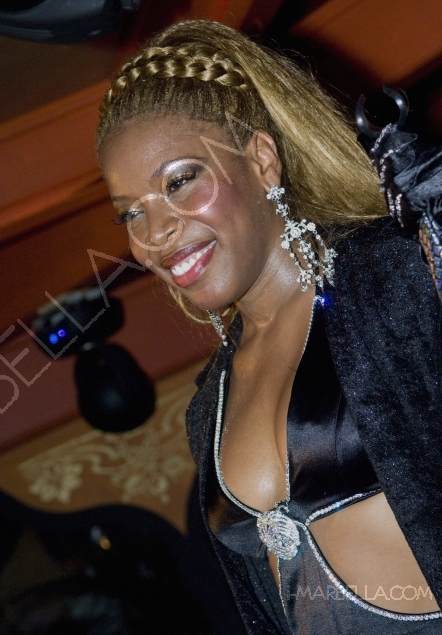 Disco Diva Yanela Brooks brings the house down at the Suite, Puente Romano, Marbella