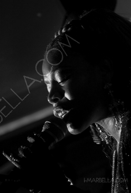 Disco Diva Yanela Brooks brings the house down at the Suite, Puente Romano, Marbella