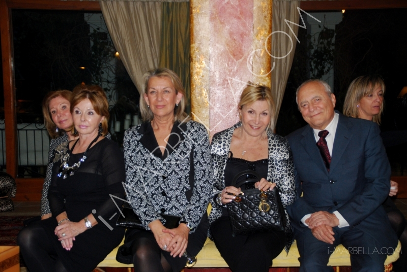 Коктейльная вечеринка от президента Lions Club в Пуэрто Банус, Марбелье