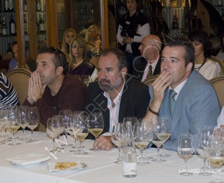 Wine Tasting at Santiago's Marbella with Bodegas Luis Alegre