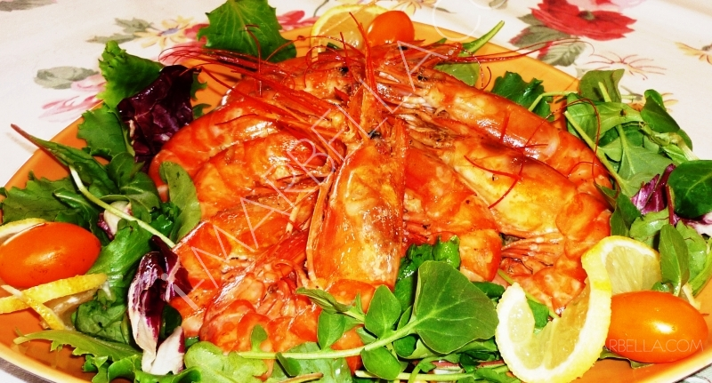 Wild Thyme by Xusan Teo: Variation of Prawns