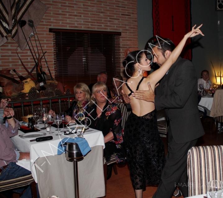 Hot Tango Show in Evita Restaurant Marbella
