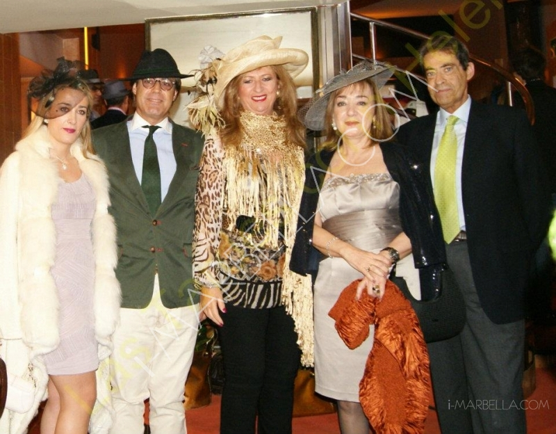 Kristina Szekely's Easter Hat Party in Marbella