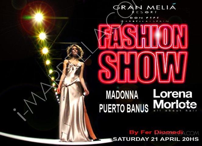 Madonna & Lorena Morlote Fashion Show@ Gran Melia Hotel