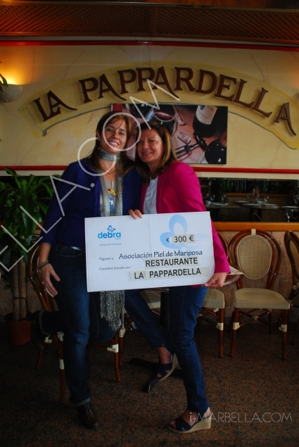 Lucia Prezioso donated money from
