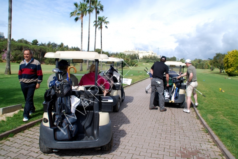 II Edition of Hispano-Ruso Golf Tournament in Marbella
