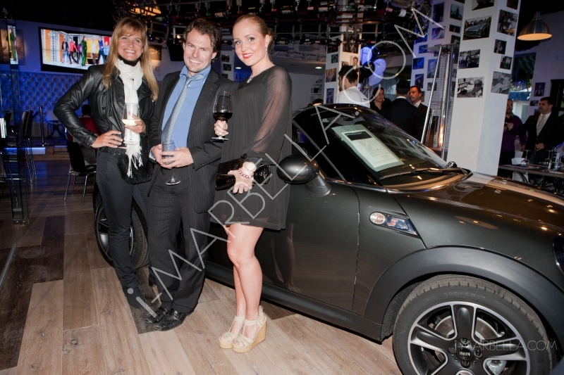 Presentation of the New Mini Cooper in Black & White Puerto Banus