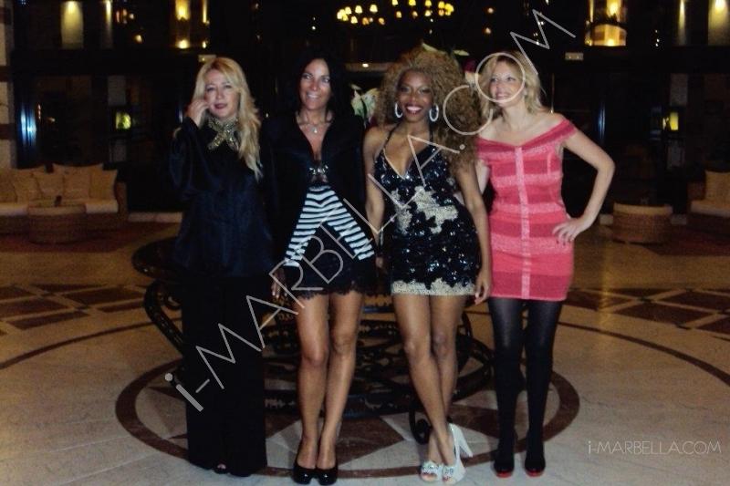 Yanela Brooks' Birthday Party in Marbella