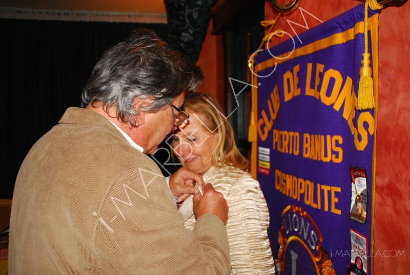 Puerto Banus Lions Club Meeting in Marbella