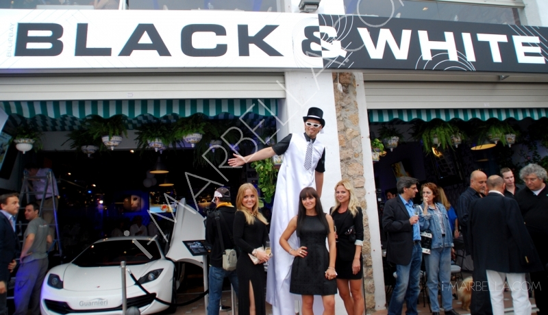 Grand Opening of Black & White in Puerto Banus Vol.1