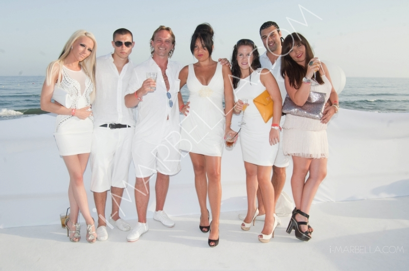 Nikki Beach Grand Opening White Party in Marbella Vol.1