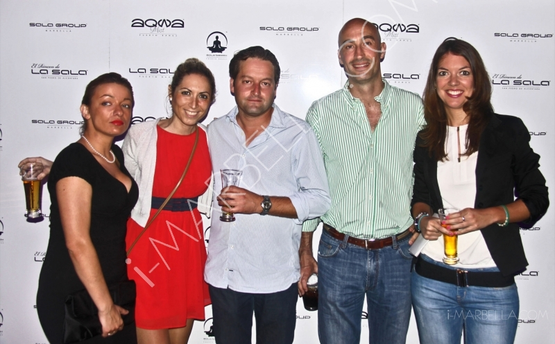 Official Opening of Aqwa Mist Nightclub in Marbella