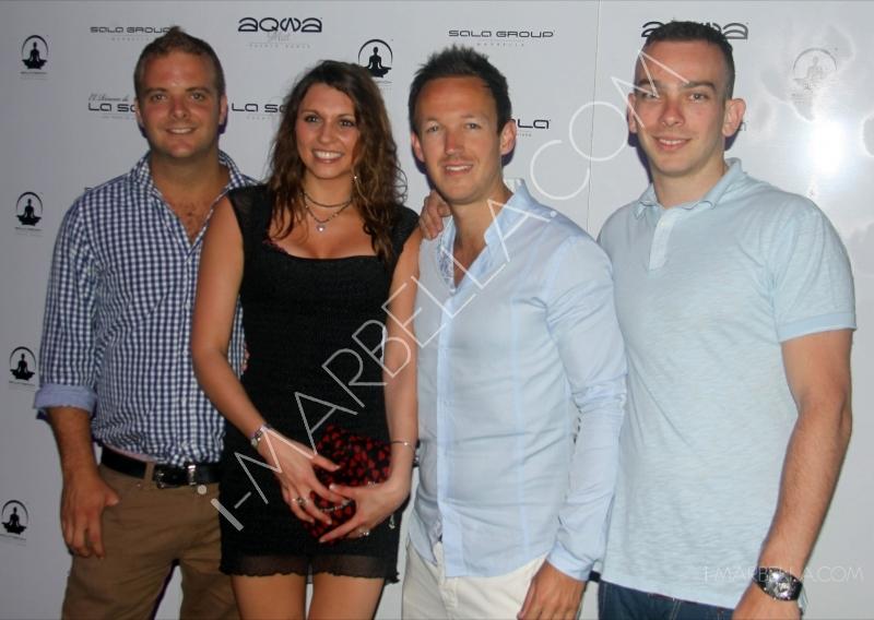 Official Opening of Aqwa Mist Nightclub in Marbella