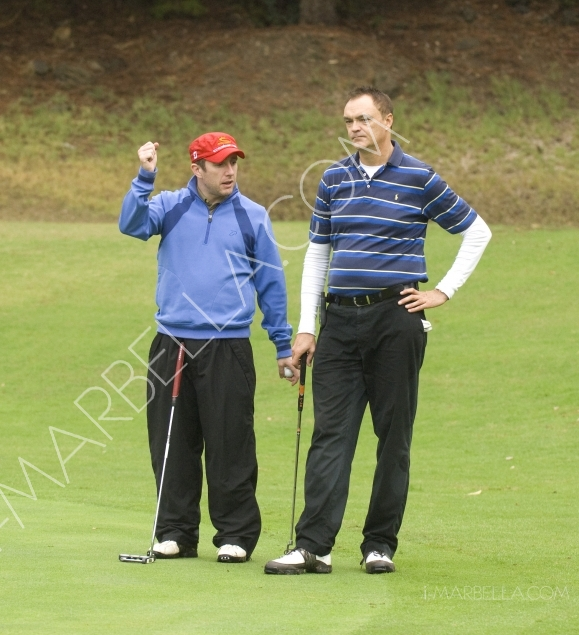 Polo House braves the first rain of the Winter in a fantastic Golf Tournament at Santa Maria Golf Club
