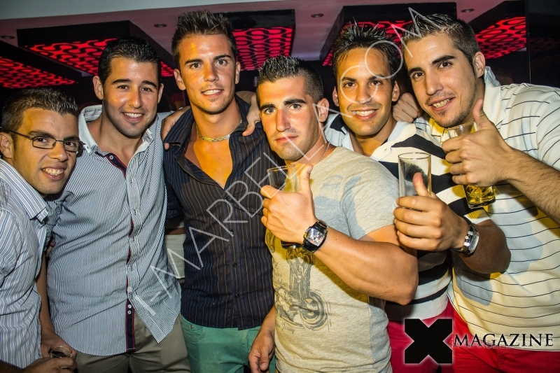 Party at Luxx Nightclub in Marbella