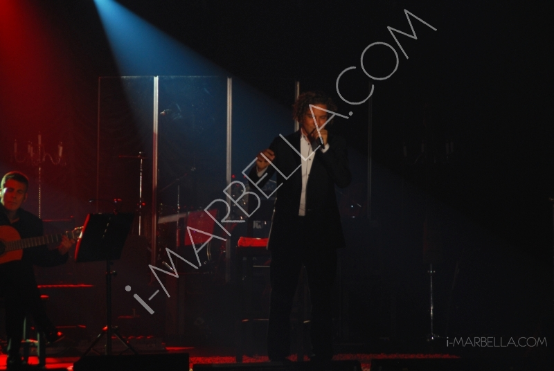 Concert of Grammy-Winning Spanish Pop Singer David Bisbal in Marbella