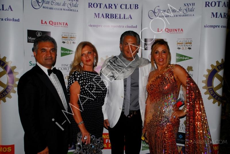 XXVIII Rotary Club Gala in Marbella