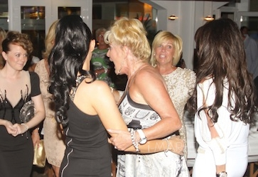 English actress and singer Kym Marsh held her Hen Night Party at La Sala