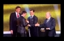 Lionel Messi winner of FIFA Ballon D'or
